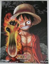 SDCC Comic Con 2013 EXCLUSIVE VIZ MANGA / SHONEN JUMP One Peice poster & coin