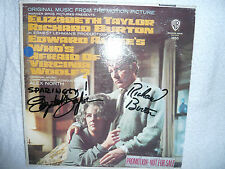 ELIZABETH TAYLOR     RICHARD BURTON   SIGNED AUTOGRAPHED   RARE COLLECTORS ITEM