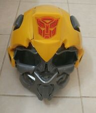 Transformers Bumblebee Voice Mixer Talking Helmet Costume Yellow Adjustable Mask