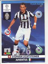 PANINI FOOT TRADING CARD CHAMPIONS LEAGUE STEPHAN LICHTSTEINER JUVENTUS