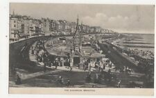 The Aquarium Brighton Vintage Postcard 385a