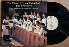 WILSON AUDIO W-805 The Choir of Grace Cathedral AUDIOPHILE LP