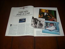 PRESTON TUCKER FRANCIS FORD COPPOLA JEFF BRIDGES ***ORIGINAL 1988 ARTICLE***
