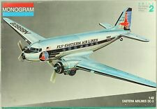 Monogram 1:48 Eastern Airlines DC-3 Plastic Aircraft Model Kit #5610U