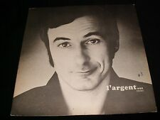 YVON DESCHAMPS  L'ARGENT  Lp Vinyl~Canada Press  POLYDOR 542.508