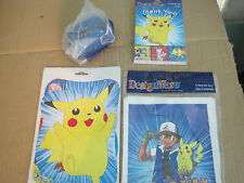 New Lot of Pokemon Designware Party Decorations Gift Loot Bags  Lot N620