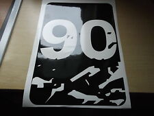 LAND ROVER DEFENDER 90  Wing panel bonnet Sticker SET