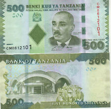 Tanzania - 500 shillings - UNC currency note