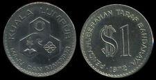 MALAYSIA 1 RINGGIT KUALA LUMPUR CITY 1972 COIN UNC