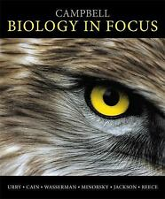 Campbell Biology in Focus books a la carte loose leaf used