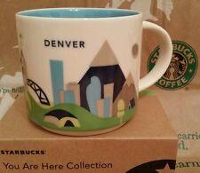 Starbucks Coffee Mug/Tasse DENVER/Colorado,You Are Here,NEU m.Sticker i.OVP-Box!