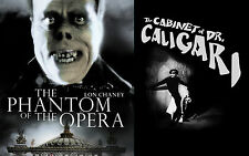 The Phantom of the Opera + The Cabinet of DR Caligari Horror double bill dvd