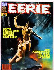 EERIE No 116 1980 Haxtur Cover!