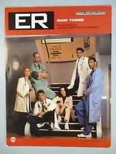 ER NBC TV Theme Sheet Music Photo Cover George Clooney Noah Wyle Marguiles