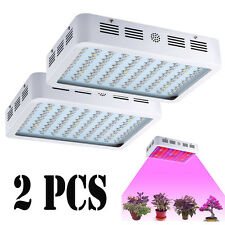 2 PCS 1000W Full Spectrum Hydro Grow Light Medical Indoor Plant Fruit Bloom Lamp
