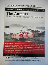 ▓ PLAN MEDIA ▓ THE AUTEURS : HOW I LEARNED TO LOVE THE BOOTBOYS