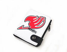 Anime Fairy Tail Natsu Dragneel Tattoo Logo Toy Student Uniset Wallet Gift New