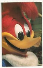 Postcard of Woody Woodpecker, Universal Studios, Florida 1992