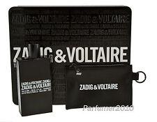 Zadig & Voltaire This is him 100ml EDT & Tasche Neu & Originalverpackt