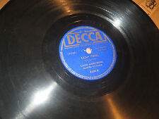 78RPM Decca Louis Armstrong, Leap Frog (1st version) / I Used to Love U V to V+