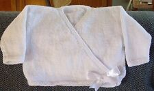 BALLET CARDIGAN CROSSOVER SIZE 2  HAND KNITTED NEW