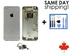 Replacement Housing Back Battery Door Cover Frame Assembly For iPhone 6 Silver