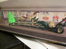 HOT WHEELS MATTEL EMPLOYEES CHRISTMAS HOLIDAY DRAGSTER SET