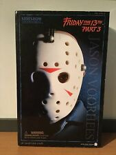 MIB Sideshow Jason Voorhees Action Figure 12 Inch Friday The 13th Part 3