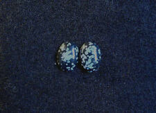 Snowflake Obsidian Cabochon, 18mm x13mm Oval, 16.20cts, Ref BA-C1