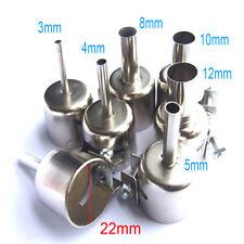 6pcs Nozzle for Soldering Station 852 850A 852D + Hot Air Gun BGA Nozzle Tips