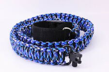Brand new/ Adjustable Paracord Tactical 550 Rifle Gun Sling Strap With Swivels