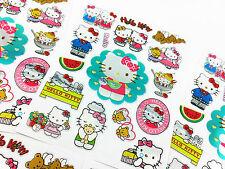 85x Hello kitty Childrens Cat Kids Stickers School Teacher Classroom Diary PVC