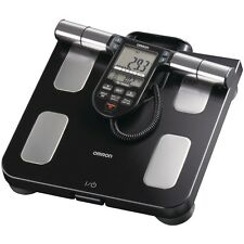 NEW Omron Hbf-516b Full-body Sensor Body Composition Monitor & Scale (black)