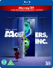 MONSTERS INC - BLU-RAY - REGION B UK