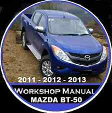 MAZDA BT-50 2011-2012-2013 WORKSHOP-ELECTRICAL REPAIR SERVICE MANUAL BT-50 CDROM