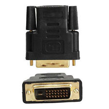 DVI-D (Dual Link) Male to HDMI Female Adapter for HDTV PC LCD Xbox One PS4