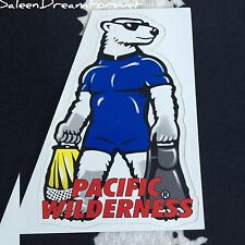 LARGE PACIFIC WILDERNESS SCUBA DIVING DECAL STICKER FRM 1997 SPORTS OCEAN DIVE