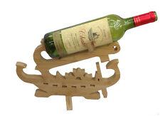 Design Nave Porta Bottiglie Di Vino Legno Mensole Del
