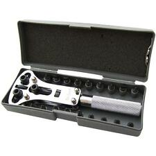 Adjustable Screw Back Watch Case Opener / Remover Tool Repair Kit.