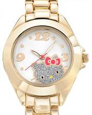 HELLO KITTY  Ladies Watch in Base Metal Model h3wl1033nonno-gold