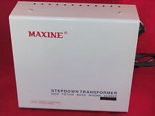 MAXINE1500w 220 v TO 110 v Step Down Conveter  100% Copper Transformer Based