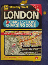 Plan londres AA , congestion charging zone  2002
