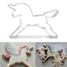 Unicorn Horse Cookies Cutter Mold Cake Decorating Biscuit Pastry Baking Mould CH
