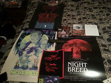 Clive Barker NIGHTBREED LOT! Blu Ray/Directors Cut + LE Posters + Bonus Items!