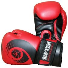 "Guantes de boxeo top ten ""red tadounidenses"". 10oz/12oz. boxeo. kick boxing. Muay Thai."