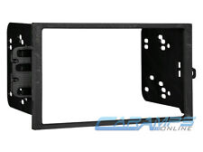 METRA 95-2001 CAR AUDIO STEREO DOUBLE DIN DASH MOUNTING KIT INSTALLATION TRIM