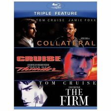 Collateral/Days of Thunder/The Firm (Blu-ray Disc, 2013, 3-Disc Set) NEW