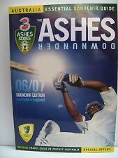 The Ashes Downunder 06/07: Essential Souvenir Travel Guide by HyAust (Paperba...