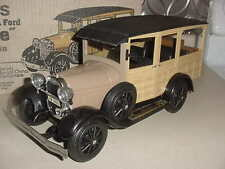 Jim Beam's 1929 Model A Ford Woodie Empty Decanter Station Wagon