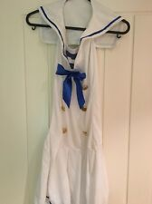 Women's Sailor Fancy Dress. Sexy Halloween Hen Party. Medium Size 12-14